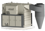 Универсальный стационарный сепаратор для очистки зернового материала УС-40С