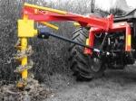 Буровая установка на трактор Rabaud